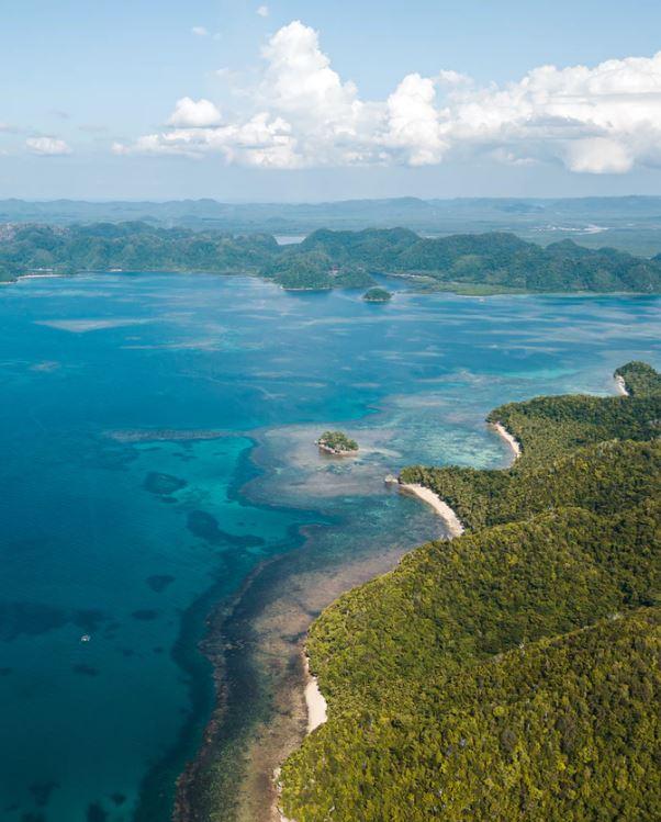 Kawhagan Island in Siargao, Philippines