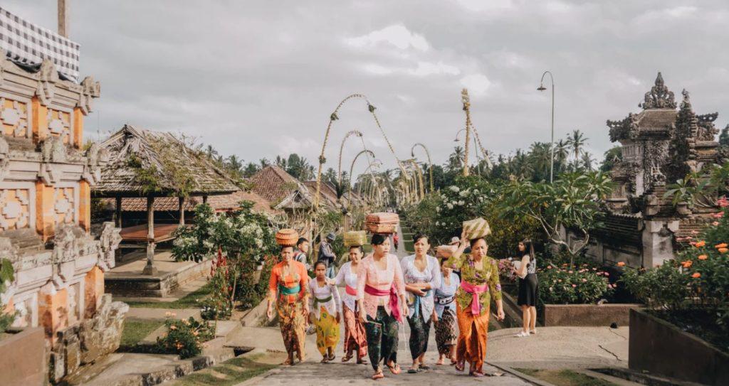 Penglipuran Village, Bali, indonesia