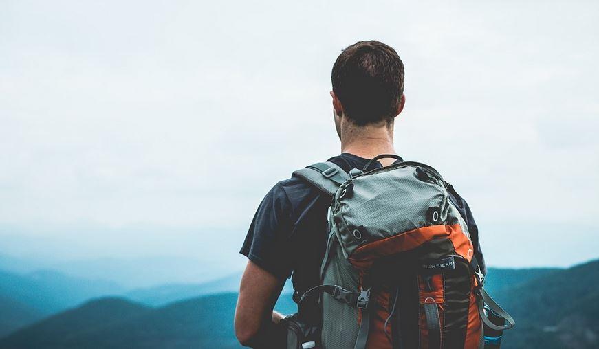 men-hiking